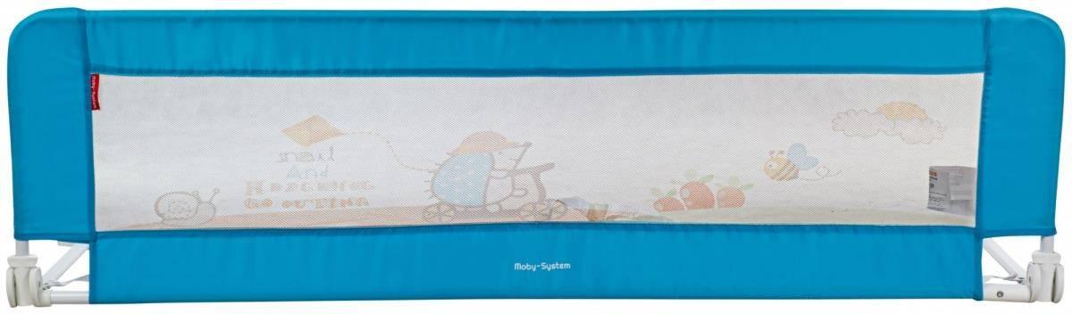 Barierka Ochronna do Łóżka - Bed Rail - kolor niebieski