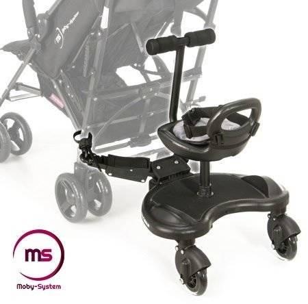 Dostawka Do Wózka z Siedzonkiem MR BUGGY - koła LED