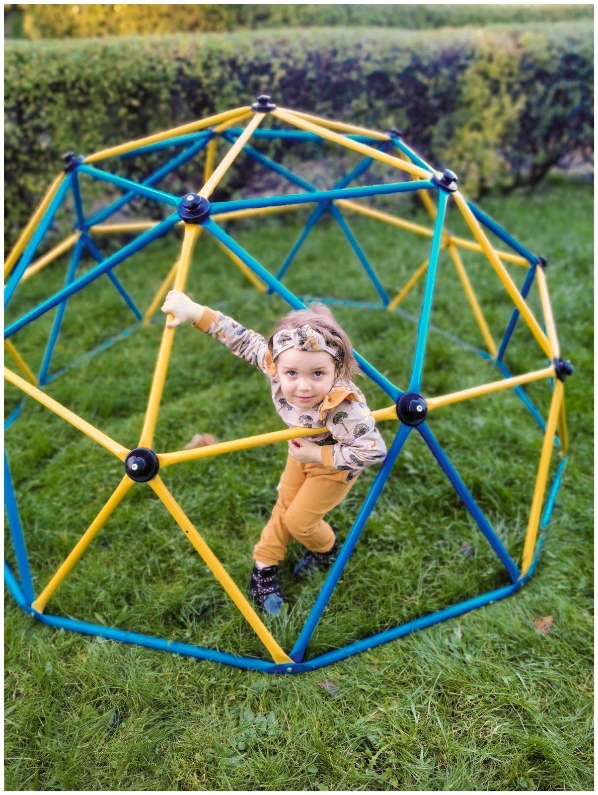 Drabinka CLIMBER - kopuła do wspinaczki, geodome, ogrodowy plac zabaw