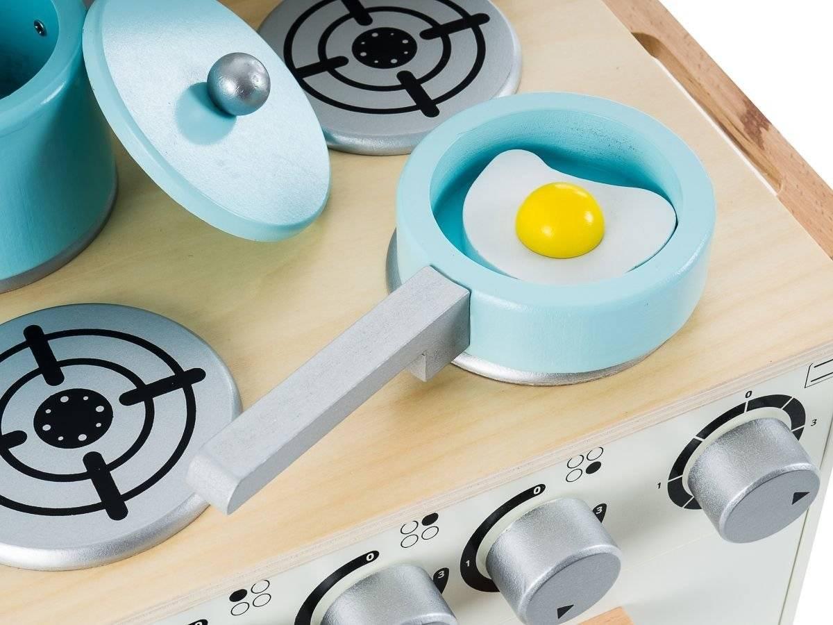 Drewniana kuchnia dla dzieci - Retro