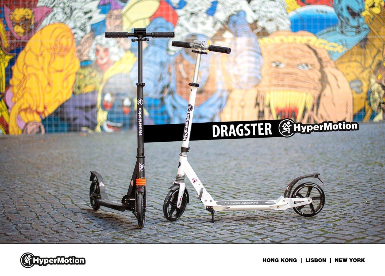 Hulajnoga miejska HyperMotion DRAGSTER Biała