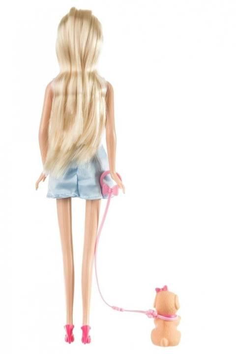 Lalka Anlily - Klinika dla zwierząt - jasny blond