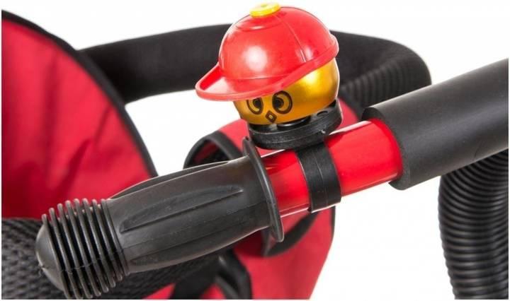 Rowerek Trójkołowy - pompowane koła - TOBI PLAY czerwony