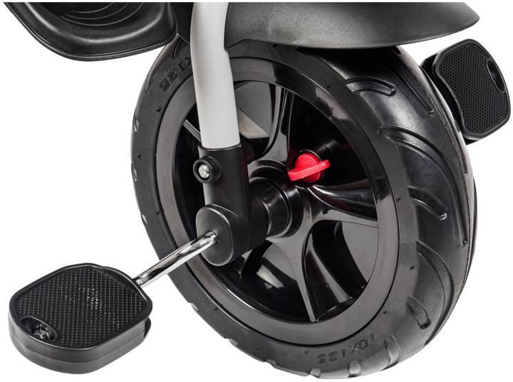 Rowerek trójkołowy HyperMotion TOBI MAJESTIC - składany. Kolor: szary